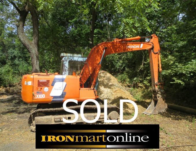 Hitachi EX100-3 Excavator used for sale