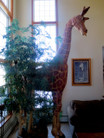 12' Giraffe Sculpture used for sale