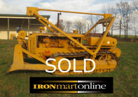 Rare 1939 D5 Crawler Tractor used for sale