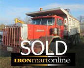 Autocar Tri-Axle Dump Truck used for sale