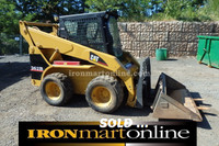 2005 Cat 262B Skid Steer Loader, in very good condition.
