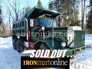 1973 Autocar Tandem Axle Dump Truck, represents the best of both worlds.