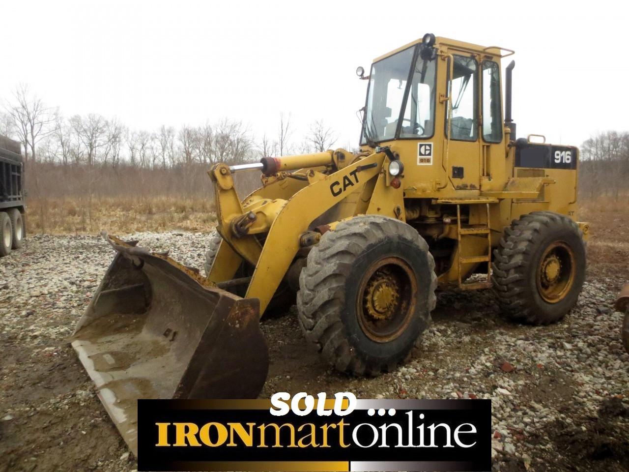 Cat 916 Wheel Loader used for sale