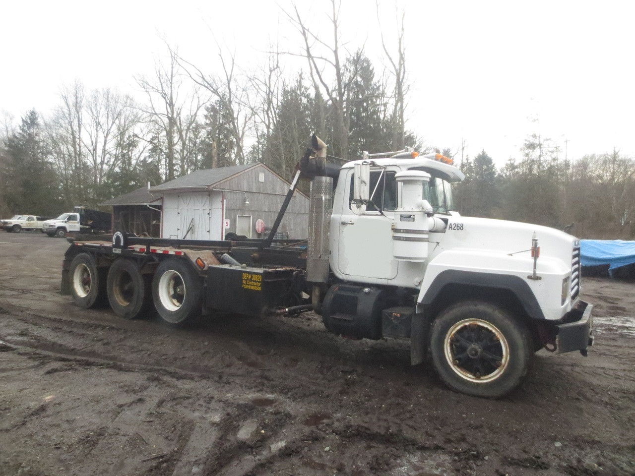 R Model Rd686sx Mack Roll Off Used For Sale