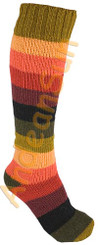 Striped Full Colors Alpaca Socks - 16711702