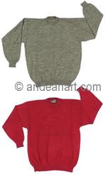 Crewneck Alpaca Sweater - 11261729