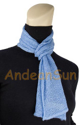 100% Baby Alpaca High Quality Mini Scarf - US STOCK