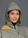 100% Baby Alpaca Hooded Cape - Cloak - Silver Grey - 16834209