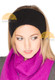 Baby Alpaca Ski / Snowboard / Sport Headband - Alpaca Hat - Black