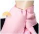 Narrow Alpaca Scarf with Alpaca Figure Label / Tag - Alpaca Carrasco - Baby Pink - 16773555