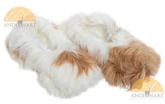 Suri Alpaca Fur Collar Slipper Hand Sewn - Shoe Style - Mixed - 72911704
