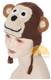 Crochet Children's Animal Hats for Babies / Children - Monkey - 16752225