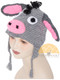 Crochet Children's Animal Hats for Babies / Children - Donkey - 16752225