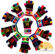 Peruvian Huancavelica Alpaca Fingerless Gloves for Children MTO - 16783223