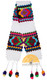 Hand Crocheted Huancavelica Alpaca Scarf for Children - White - 16772211