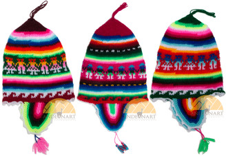 """Fiesta"" Ear Flap Hat for Children - Rustic Quality - US STOCK"