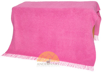 Alpaca Boucle Throw - Blanket - AndeanSun - US STOCK