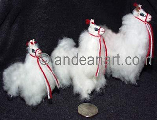 Llama / Alpaca Fur Toy Standing - 5 sizes - 15161655