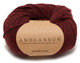 100% Baby Alpaca Skeins - Set of ten by AndeanSun - Heather Burgundy/Black - 16702002