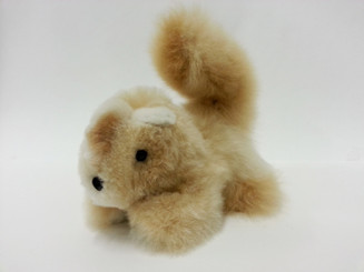 "Alpaca Fur Squirrel 5"" - Mixed colors - 15961608"