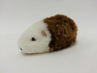 """Alpaca Fur Guinea Pig Mini 2 1/2"""" - Mixed Color - 15961609"""