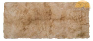 Alpaca Fur Runner Rug - Beige - 72161001