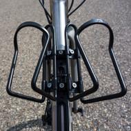 image of double bottle adapter on bike