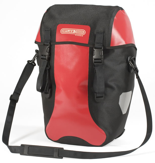 Ortlieb Bike-Packer Classic Rear Pannier, Red