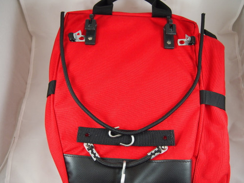 Old Lone Peak Pannier bungee system with new