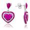 Swarovski Elements Pink Earrings