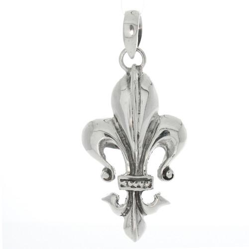 Sterling Silver 925 De Lis Pendant