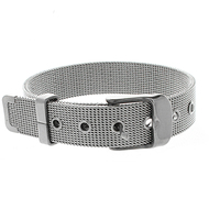 Stainless Steel Buckle Belt Bracelet