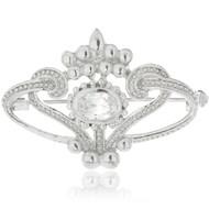 Cubic Zirconia Elegant Pin