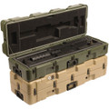 Pelican Machine Gun Case - 472-M2W2BBLS, NSN 8145-01-565-3662