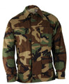 Coat, Battle Dress Uniform (BDU), Woodland, Small, Long, NSN 8415-01-390-8543