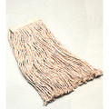 "Cut-End Wet Mop Head - Cotton - 12 oz, 26"" Yarn Length, 8-ply, Natural, NSN 7920-00-141-5549"