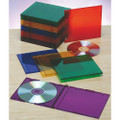 CD cases - Slim,  Assorted Colors, NSN 7045-01-554-7682