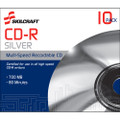 CD-R Silver,700MB,80min,52x,10ct, NSN 7045-00-NIB-0259