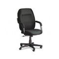 Commerce Series High-Back Swivel/Tilt Chair, Black Fabric, NSN CM-GLB4736BKPB09