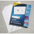 """SKILCRAFT/AveryåäÌ£å¢ White Laser Labels - 1"""" x 4"""" Label, 2000 Labels per Box, NSN 7530-01-289-8190"""