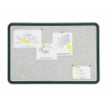 "QuartetÌ´å¬/SKILCRAFT Granite Surface Bulletin Board - 36"" x 24"", NSN 7195-01-484-0017"
