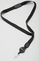 3/4 Neck Lanyard w/Safety Breakaway /ID Reel, NSN 5340-00-NIB-0089