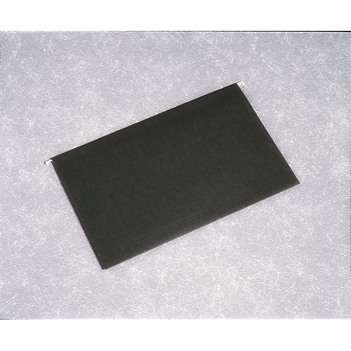 Hanging File Folder - 1/5 Cut, Legal Size, Green, NSN 7530