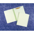 "Expanding Folder-HD,Two 1 1/2""Fasteners on Front and Back Covers, Letter, Green, NSN 7530-00-NIB-0512"
