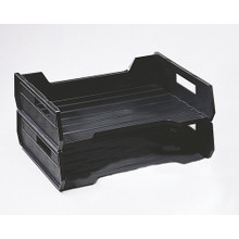 Plastic Desk Tray Legal Black Nsn 7520 01 094 4309