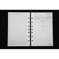 """DAYMAXÌ´å¬ 2011 Day-at-a-View Refill - 5 1/2"""" x 8 1/2"""", GLE, 7-Hole, NSN 7510-01-573-4841"""