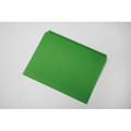 Straight Cut Stained File Folders - Letter Size, Green, NSN 7530-01-364-9505