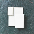 "Memo Pads - 3"" x 5"", 24 per Package, White, NSN 7530-00-285-3090"