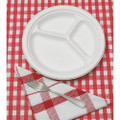 Paper Plates - Triple Compartment, NSN 7350-01-263-6700