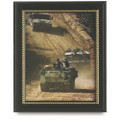 "Military-Themed Picture Frames - 11"" x 14"", U.S. Army, Black, NSN 7105-01-458-8213"